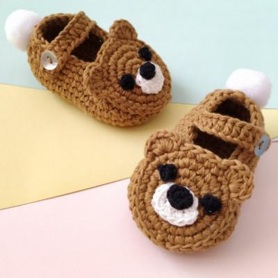 sepatu-rajut-beruang-teddy