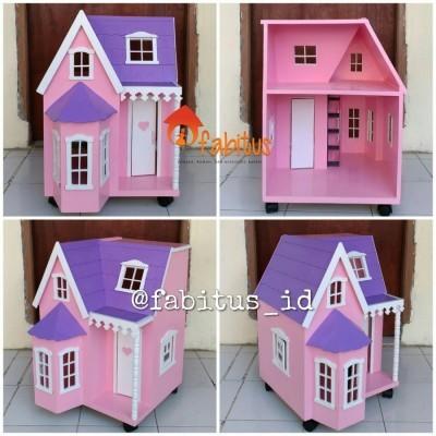 mainan-anak-rumah-boneka-barbie-villa-kecil-dollhouse