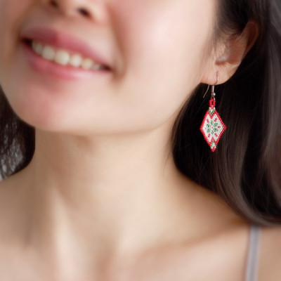 anting-manik-segi-empat-ornamen