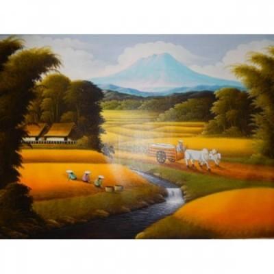 lukisan-tradisional-motif-pematang-sawah-32747