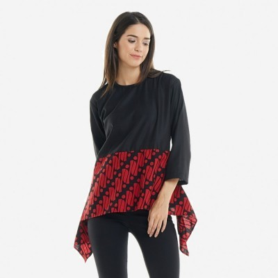 batik-dirga-amunet-atsan-wanita-blouse-batik-red