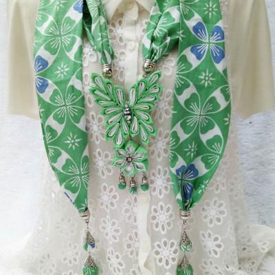 kalung-batik-butterfly-pale-green