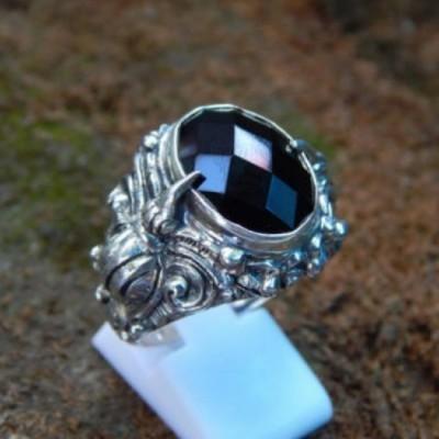 cincin-perak-motif-burung-cakrawake-batu-black-onyx-cakerboard-44486