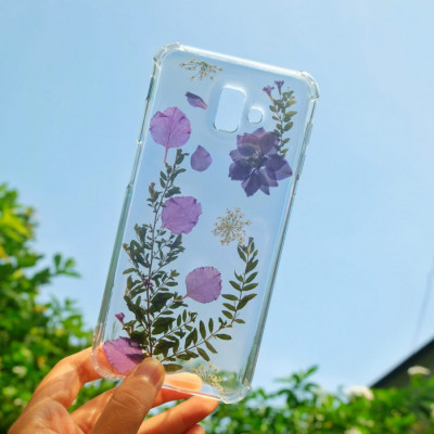 real-flower-case