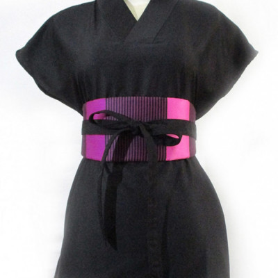 koinobori-magenta-stripes-obi-belt-ikat-pinggang-wanita