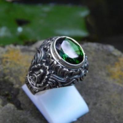 cincin-perak-ukir-patra-batu-green-quartz-57362