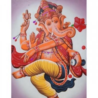 lukisan-tradisional-motif-dewa-ganesha-60510