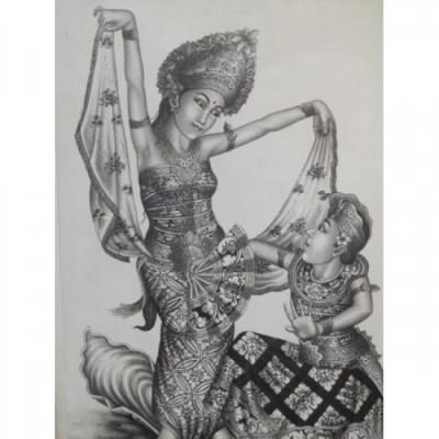 lukisan-tradisional-motif-2-penari-bali-60973