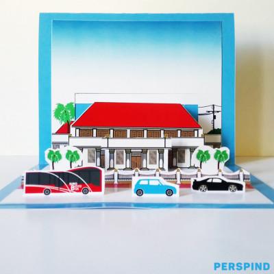 pop-up-3d-postcard-gedung-negara-grahadi-surabaya