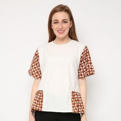 batik-dirga-himalia-atasan-wanita-blouse-batik-brown