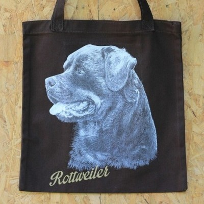 drawing-totebag-rottweiler