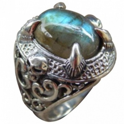 cincin-perak-motif-cakar-tengkorak-batu-labradorite
