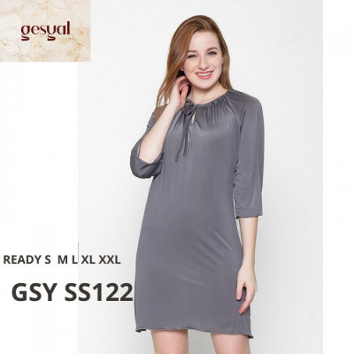 gesyal-baju-rumah-seksi-baju-tidur-daster-polos-spandex-gsy-ss122-size-m
