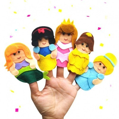 finger-puppet-princess-series