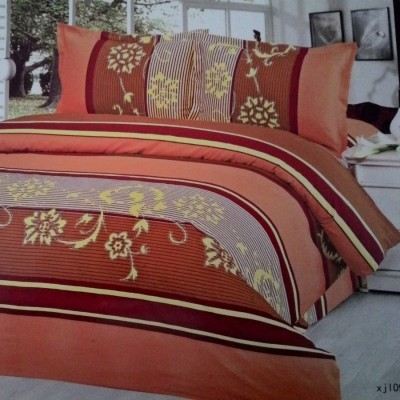 bedcover-set-cintaku-flower-01-kombinasi-orange-cokelat-uk.180-cm