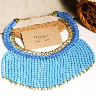 kalung-bohemian-wool-biru