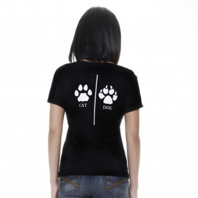 raofe-ladies-body-fit-cat-and-dog-hitam