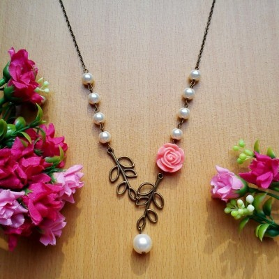 kalung-vintage-peach-rose