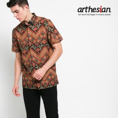 arthesian-kemeja-batik-pria-daun-zig-zag-batik-printing