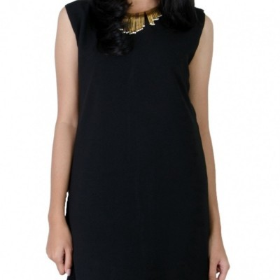 terusan-panjang-hitam-wanita-black-dress