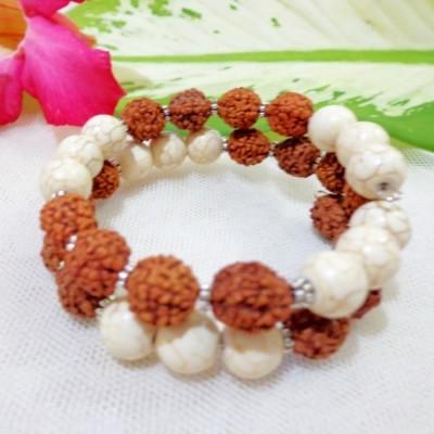 gelang-rudraksha-aa07-batu-turquois-putih-peer