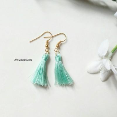 anting-tassel-mini-hijau-pastel