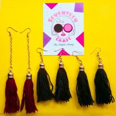 single-tassel-earring