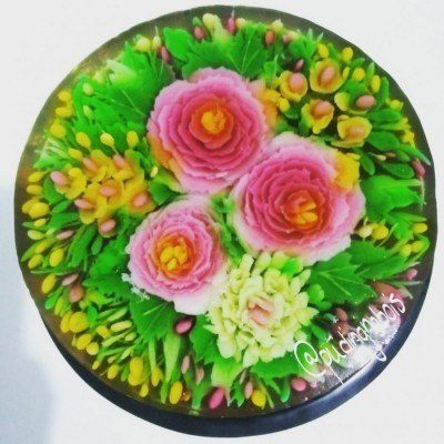 flower-pudding