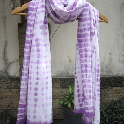 pashmina-shibori-ungu