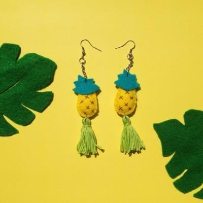 pineaple-of-summer-earring