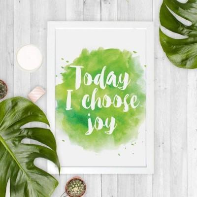 today-i-choose-joy-20x30cm-wall-decor-hiasan-dinding