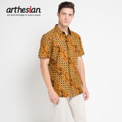 arthesian-kemeja-batik-pria-kawung-anggrek-batik-printing