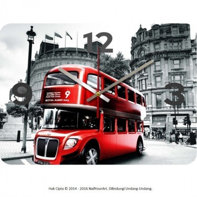 jam-dinding-unik-nail-your-art-standard-series-redbus