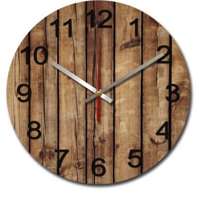jam-dinding-unik-nail-your-art-standard-series-brownwood