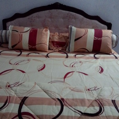bedcover-set-cintaku-rings-01-kombinasi-cream-kuning-merah-uk.180-cm