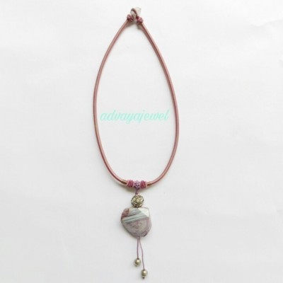 kalung-pink-agate