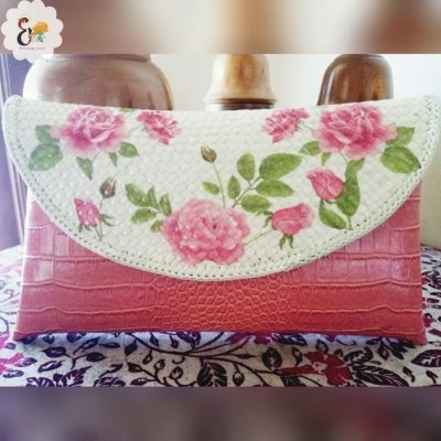 clutch-decoupage