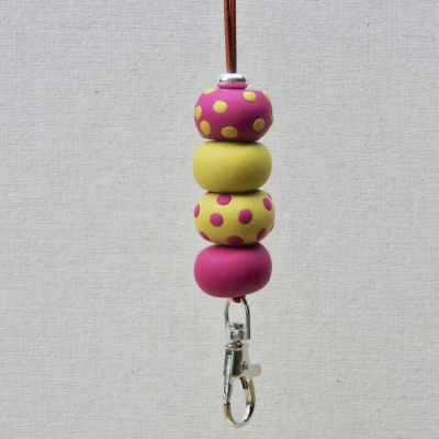 one-of-a-kind-clay-chunky-beads-lanyard