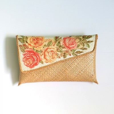 clutch-pandan-decoupage-natural-tutup-miring