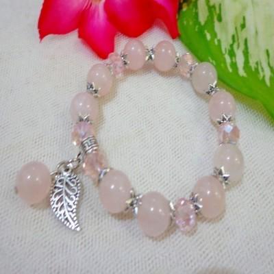 gelang-ab45-batu-rose-quartz-simple-app-daun