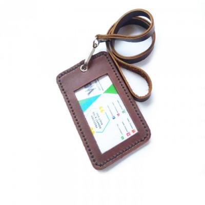 name-tag-id-kulit-asli-warna-coklat-garansi-1-tahun-name-tag-kulit.-gantungan-id-card-