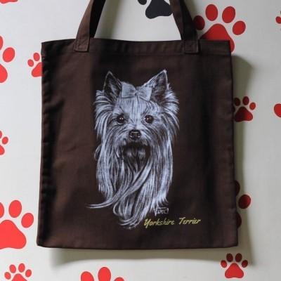 drawing-totebag-yorkshire-terrier