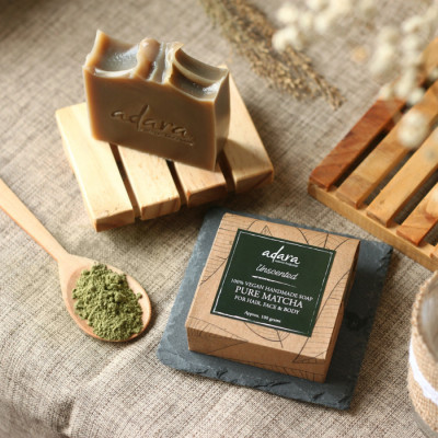 adara-organic-handmade-pure-matcha-soap-unscented