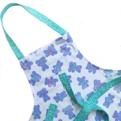celemek-memasak-anak-kids-apron-teddy-bear-putih-biru