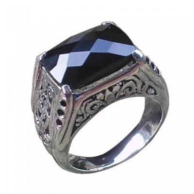 cincin-perak-ukir-bali-batu-black-onyx