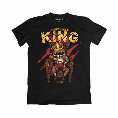 numeulli-fight-like-a-king-t-shirt-black-cotton-combed-30s
