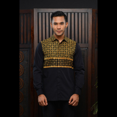 kemeja-batik-manggala-archipelago-texture