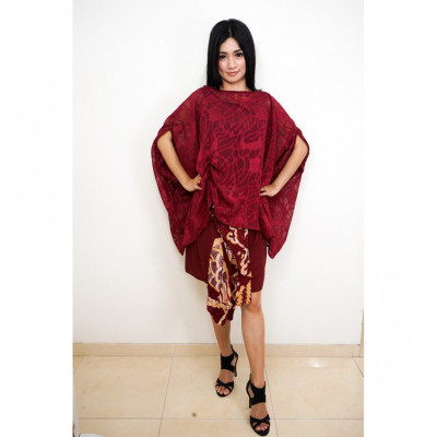 gesyal-setelan-batik-wanita-dress-batik-modern-dress-pesta-baju-kondangan-terusan-dress-midi-pesta
