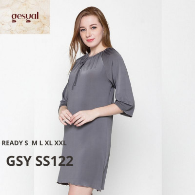 gesyal-baju-rumah-seksi-baju-tidur-daster-polos-spandex-gsy-ss122-size-l