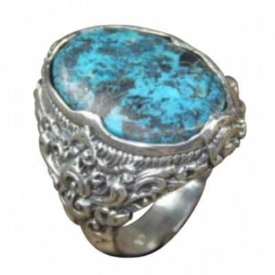 gagang-cincin-perak-motif-ukiran-bali-patra-batu-torquise